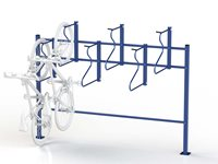 Space Saver Single Sided Rack