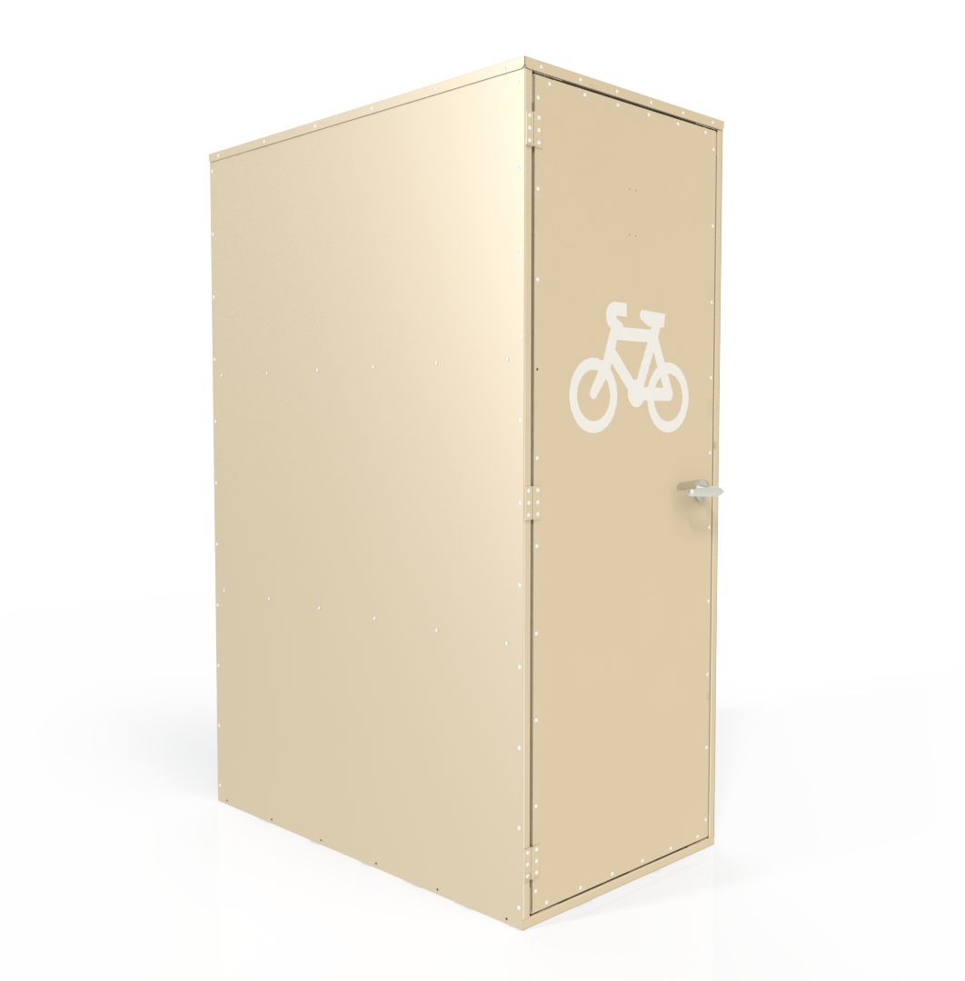 Vertical Bike Locker