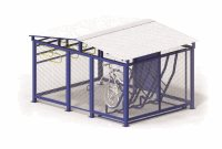 Vertical Storage 13 Bike Cage